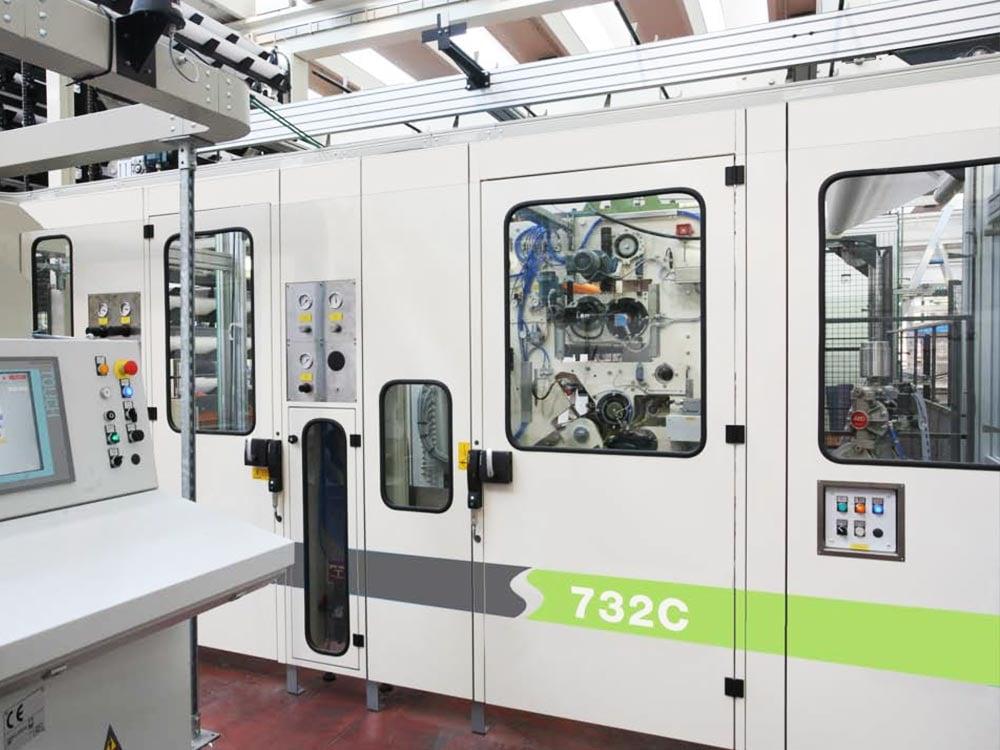 732C Industrial Rewinder