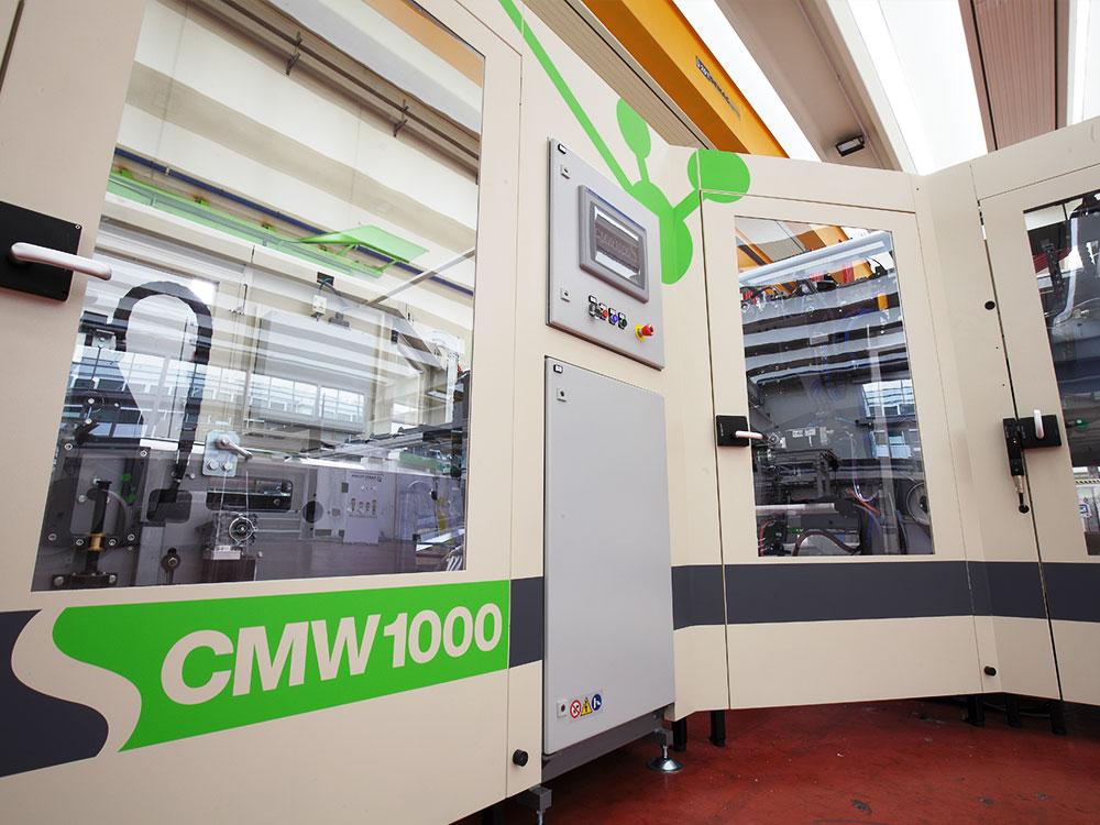 CMW 1000 Casmatic wrapper